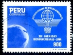 Sellos de America - Perú -  PERU_SCOTT 858.03 14º JORNADAS IBEROAMERICANAS DEFENSA AEREA. $0,60