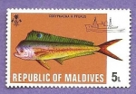 Stamps : Asia : Maldives :  INTERCAMBIO