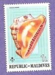 Sellos de Asia - Maldivas -  INTERCAMBIO