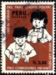 Sellos de America - Perú -  PERU_SCOTT 900.01 PRO NAVIDAD CARTERO Y COMEDORES INFANTILES. $0,50