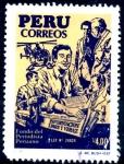 Sellos de America - Perú -  PERU_SCOTT 938.01 FONDO DEL PERIODISMO PERUANO. $0,35