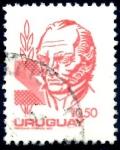 Stamps : America : Uruguay :  URUGUAY_SCOTT 1075.01 ARTIGAS. $0,20