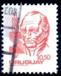 Stamps : America : Uruguay :  URUGUAY_SCOTT 1075.02 ARTIGAS. $0,20