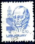 Stamps : America : Uruguay :  URUGUAY_SCOTT 1084.01 ARTIGAS. $0,35