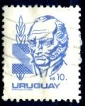 Sellos de America - Uruguay -  URUGUAY_SCOTT 1084.02 ARTIGAS. $0,35
