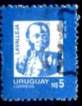Stamps : America : Uruguay :  URUGUAY_SCOTT 1195.02 LAVALLEJA. $0,20