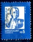 Stamps Uruguay -  URUGUAY_SCOTT 1195.04 LAVALLEJA. $0,20