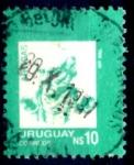 Sellos de America - Uruguay -  URUGUAY_SCOTT 1199 ARTIGAS. $0,20