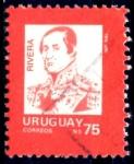 Sellos de America - Uruguay -  URUGUAY_SCOTT 1211A.01 RIVERA. $0,25