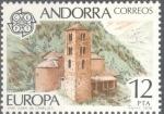 Sellos de Europa - Andorra -  ANDORRA_SCOTT 104 EUROPA. $1.00