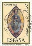 Sellos de Europa - España -  (298) NAVIDAD 1975. LA VIRGEN Y EL NIÑO, EN NAVARRA. EDIFIL 2300