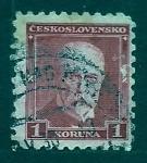 Sellos de Europa - Checoslovaquia -  MAZARYK