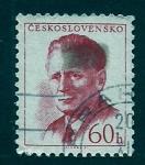 Stamps Czechoslovakia -  ANTONIN NOVOTNY
