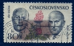 Sellos de Europa - Checoslovaquia -  Combatientes Contra el facismo