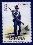 Sellos de Europa - España -  Zapador de Ingenieros