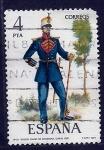 Stamps Spain -  Tambor May0r de infanteria