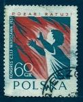 Sellos de Europa - Polonia -  Congreso de bomberos Varsovia