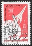 Stamps : Asia : Vietnam :  Conquista espacial