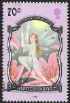 Sellos de Europa - Reino Unido -  Montserrat - Criatura mitológica, Fairy
