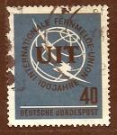 sellos de Europa - Alemania -  Union Intern.Telecomunicaciones