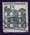 Sellos del Mundo : Europa : Alemania : Castillo TEGEL (Berlin)