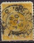 Sellos del Mundo : Europa : Holanda : HOLANDA Netherlands 1891-94 Scott 40 Sello Princesa Wihelmina Usados