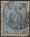 Sellos del Mundo : Europa : Holanda : HOLANDA Netherlands 1891-94 Scott 41 Sello Princesa Wihelmina Usados