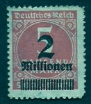 Stamps Germany -  Inflacion