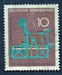 Stamps Germany -  FRIEDERICH KOENING (Maquinaria)