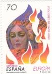 Stamps : Europe : Spain :  FIESTAS POPULARES-FOGUERES DE SANT JOAN (29)venta