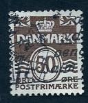 Sellos de Europa - Dinamarca -  Cifra
