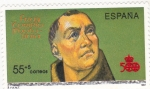 Stamps : Europe : Spain :  FRAY TORIBIO MOTOLIMIA (29) venta