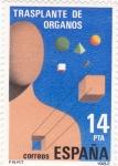 Stamps : Europe : Spain :  TRASPLANTE DE ORGANOS (29)