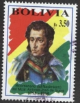 Stamps of the world : Bolivia :  Bicentenario del nacimiento del Mariscal Antonio Jose de Sucre