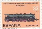 Stamps : Europe : Spain :  LOCOMOTORA SANTA FE (29)