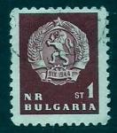 Sellos de Europa - Bulgaria -  Escudo de armas