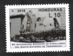 Stamps Honduras -  Sociedad de Caballeros del Santo Entierro de Tegucigalpa