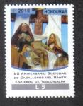 Sellos de America - Honduras -  Sociedad de Caballeros del Santo Entierro de Tegucigalpa