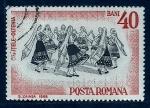 Sellos del Mundo : Europa : Rumania :  Dansa regional
