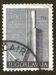 Stamps Yugoslavia -  Monumento