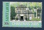 Sellos del Mundo : America : Santa_Lucia : Navidad 2005 - Iglesia de la Purificación de la Santísima Virgen