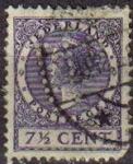 Stamps Netherlands -  HOLANDA Netherlands 1924-26 Scott 174 Sello Reina Wihelmina Usado