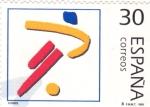 Stamps : Europe : Spain :  ILUSTRACIÓN-FUTBOL (29)