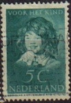 Stamps Netherlands -  HOLANDA Netherlands 1937 Scott B101 Sello niños bienestar de la infancia Usado