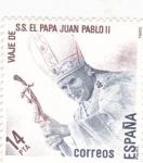 Sellos de Europa - España -  PAPA JUAN PABLO II(29)