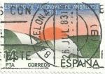 Stamps Spain -  ESTATUTOS DE AUTONOMIA. ANDALUCIA. EDIFIL 2686