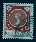 Stamps Gibraltar -  Isabel  II