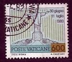 Sellos de Europa - Vaticano -  30 Junio 11julio