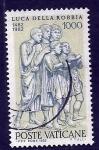 Sellos del Mundo : Europa : Vaticano : Luca Della Robbia
