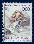 Sellos del Mundo : Europa : Vaticano :  Santa Teresa D Avila